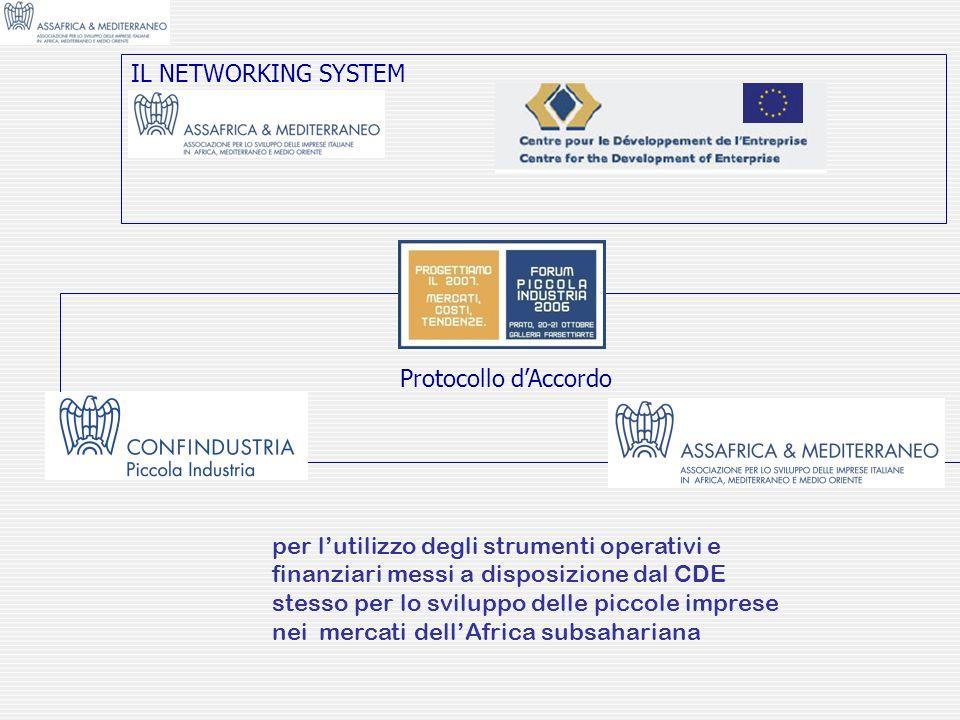 IL NETWORKING SYSTEMProtocollo d'Accordo.