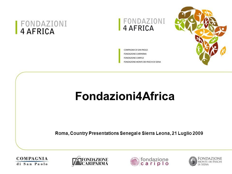 Roma, Country Presentations Senegal e Sierra Leona, 21 Luglio 2009