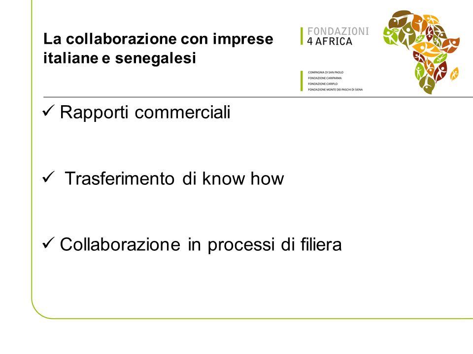 La collaborazione con imprese italiane e senegalesi