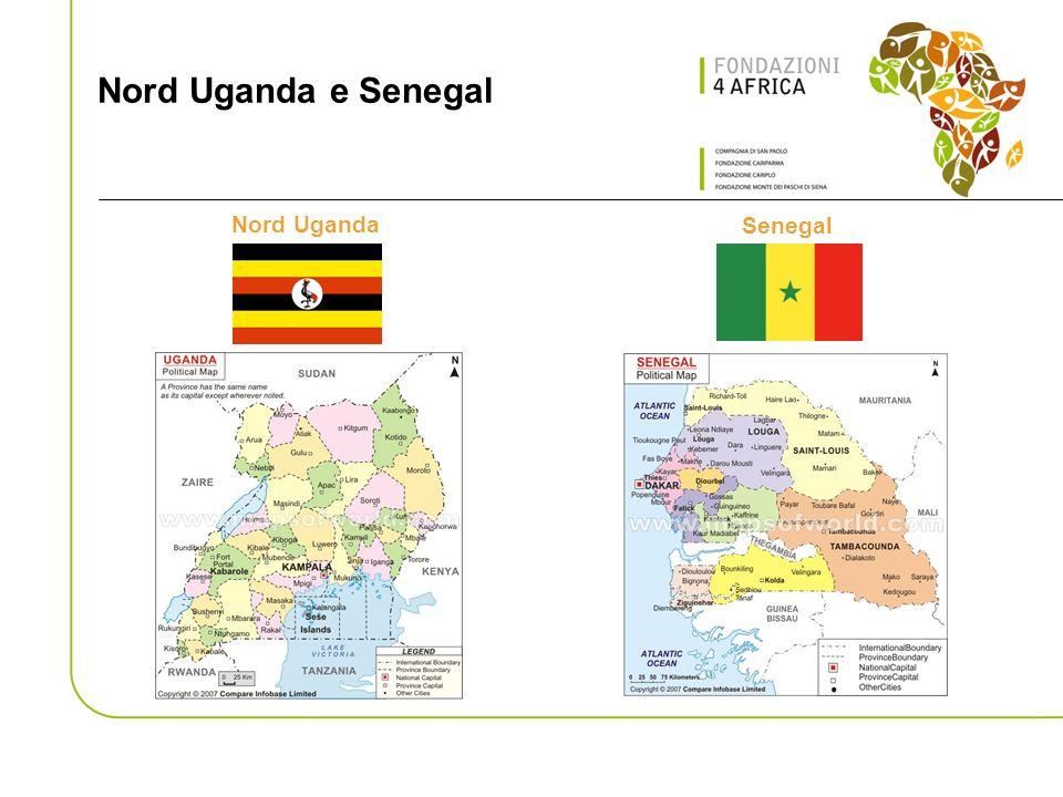 Nord Uganda e Senegal Nord Uganda Senegal