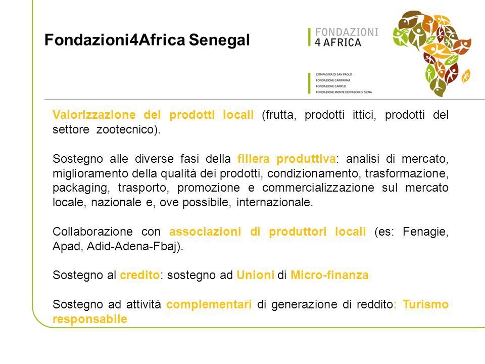Fondazioni4Africa Senegal