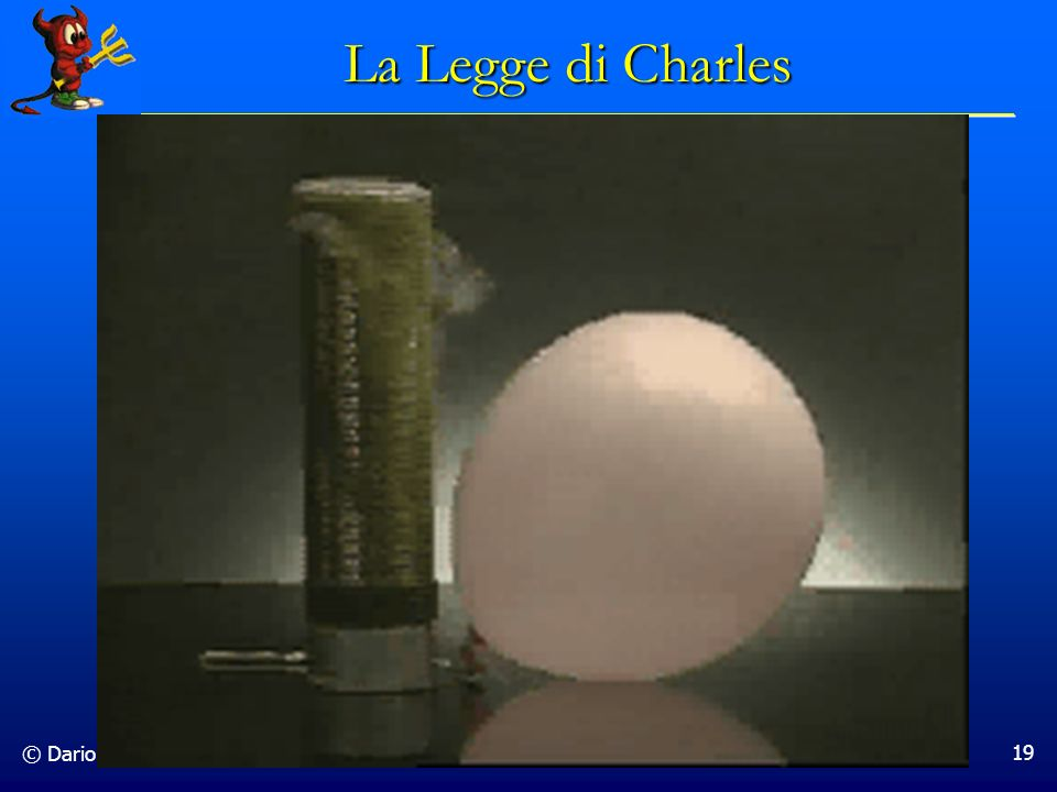 La Legge di Charles © Dario Bressanini
