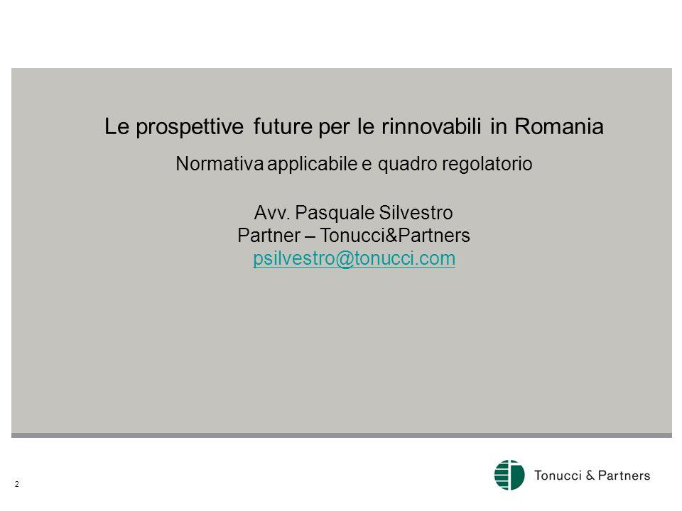 Le prospettive future per le rinnovabili in Romania