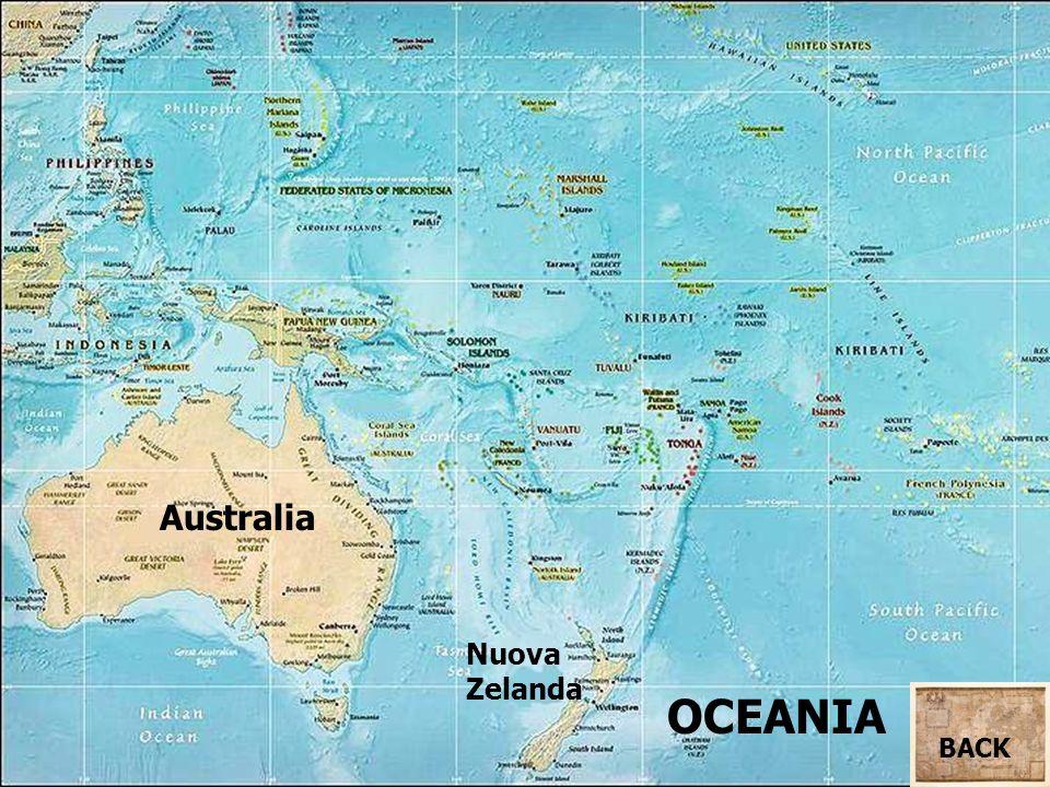 Australia Nuova Zelanda OCEANIA BACK