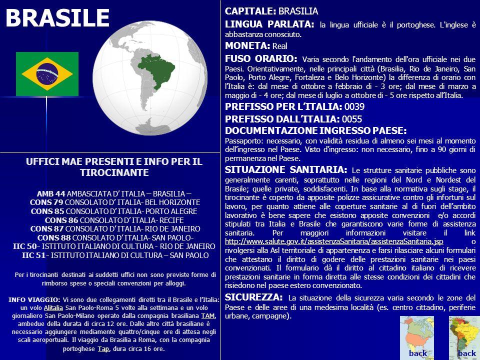 BRASILE CAPITALE: BRASILIA