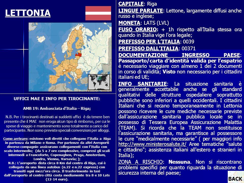 LETTONIA CAPITALE: Riga