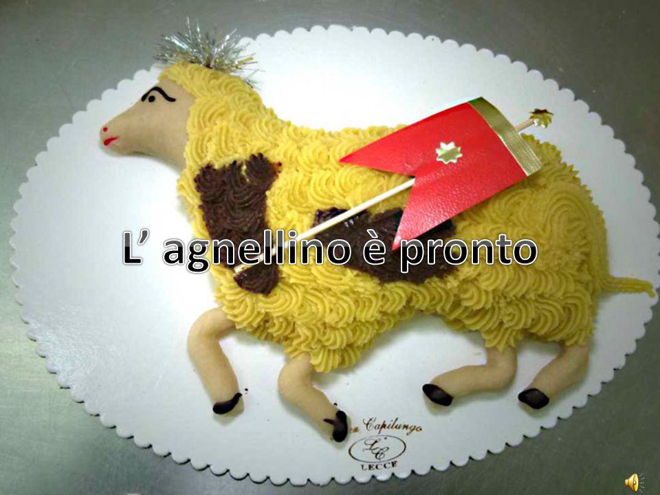 L' agnellino è pronto