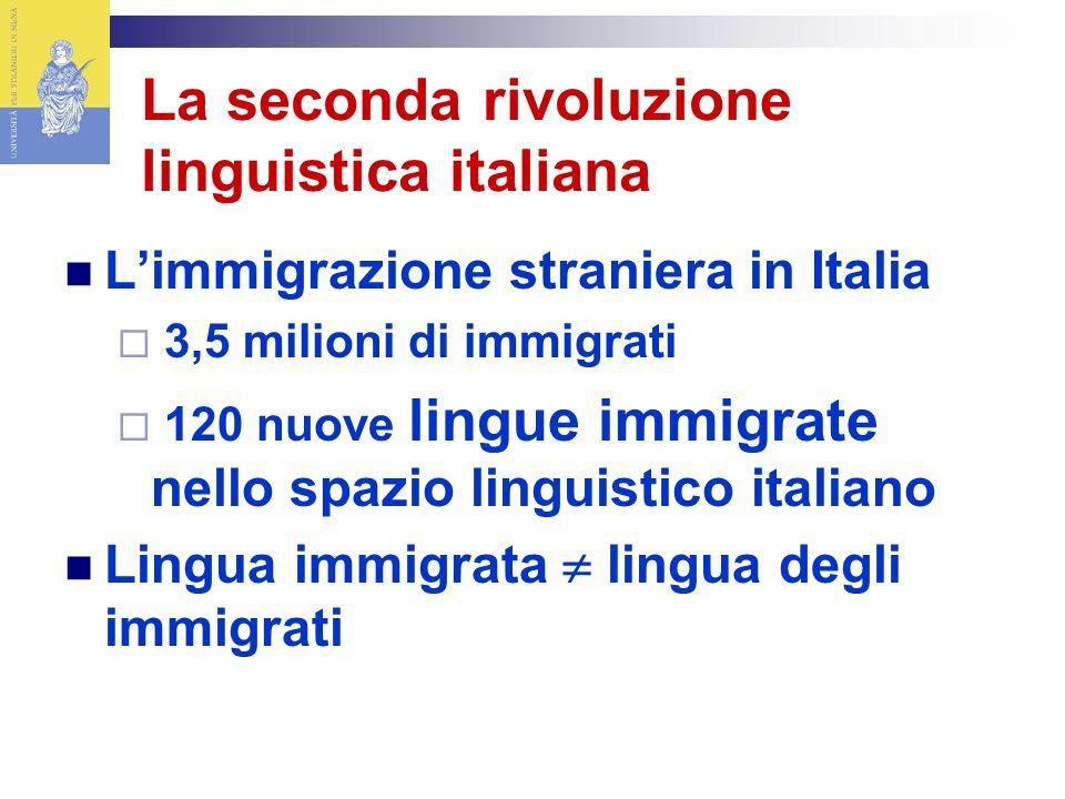 La seconda rivoluzione linguistica italiana