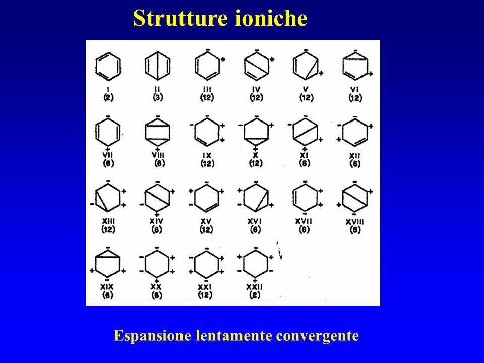 Strutture ioniche Espansione lentamente convergente