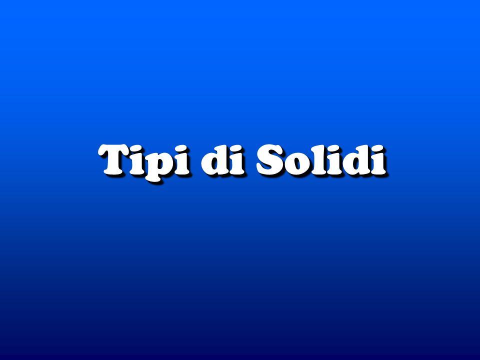 Tipi di Solidi