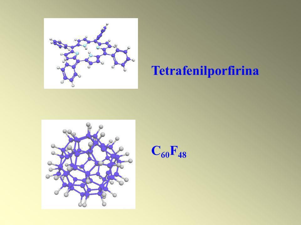 Tetrafenilporfirina C60F48