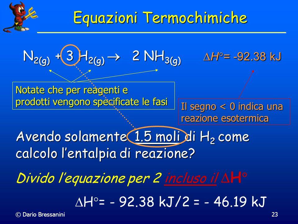 Equazioni Termochimiche