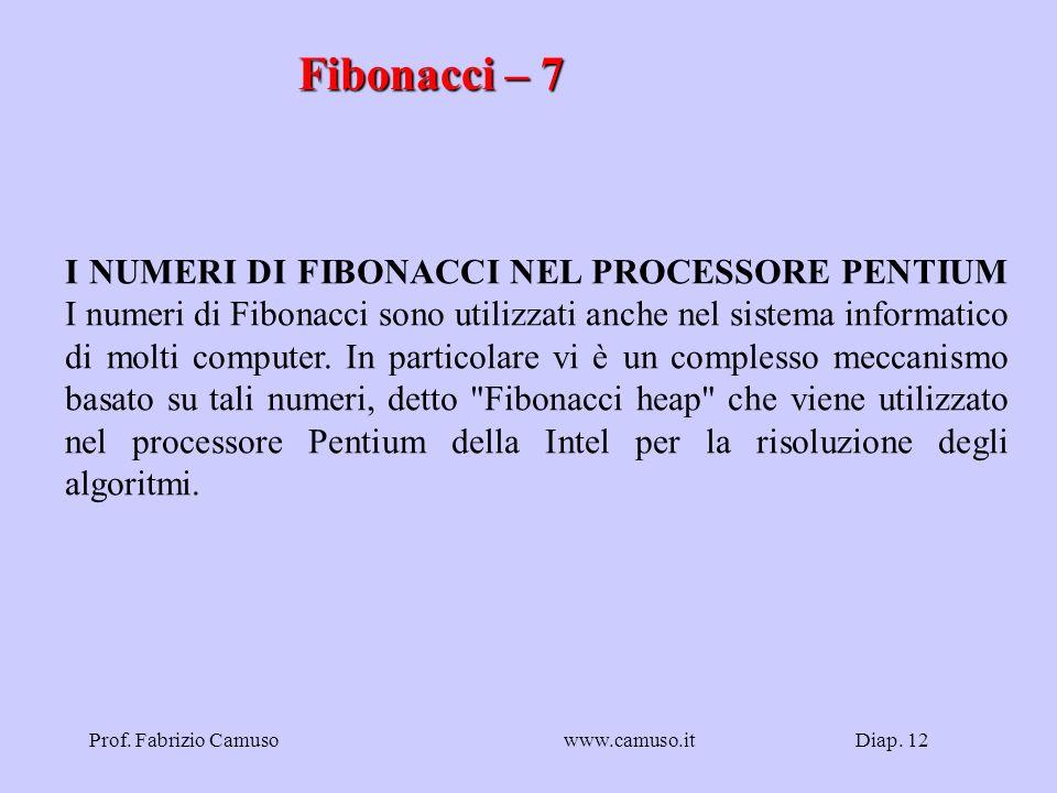 Fibonacci – 7