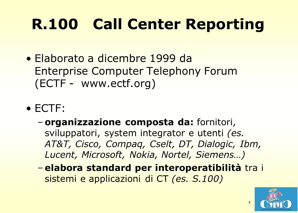 R.100 Call Center Reporting