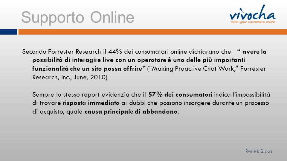 Supporto Online