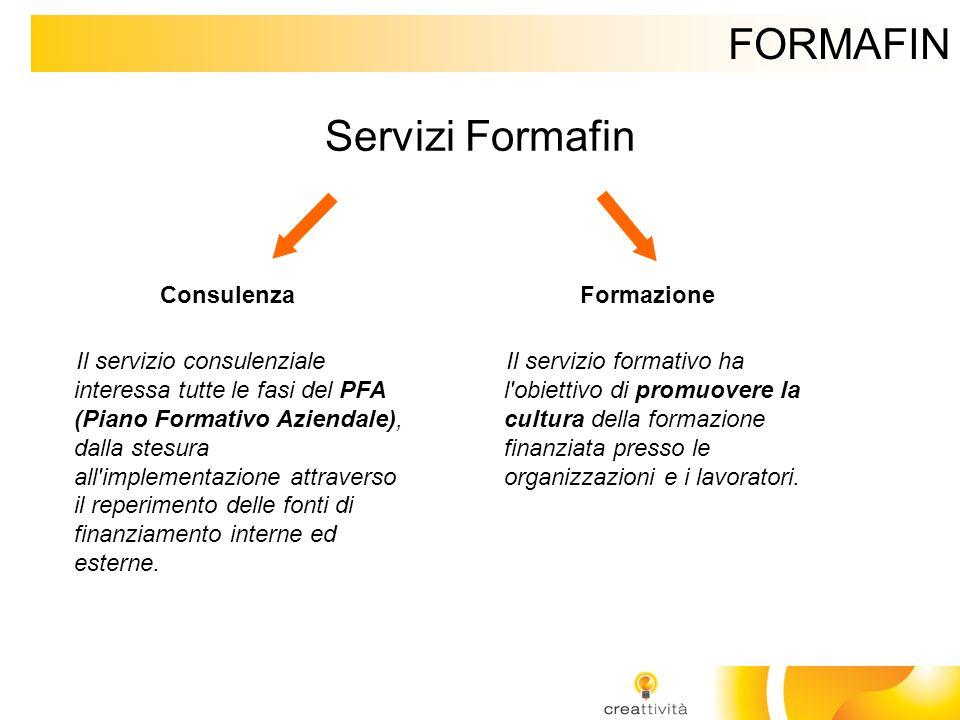 FORMAFIN Servizi Formafin Consulenza Formazione