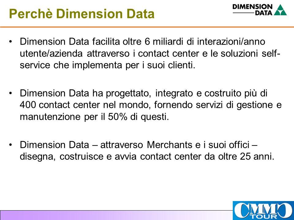 Perchè Dimension Data