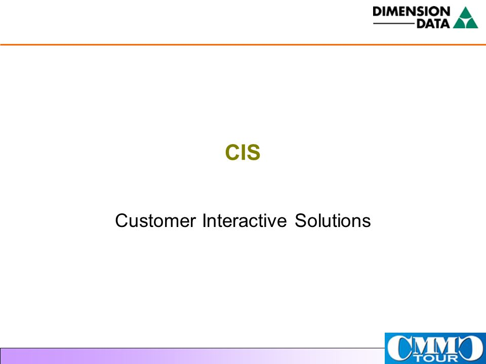 Customer Interactive Solutions