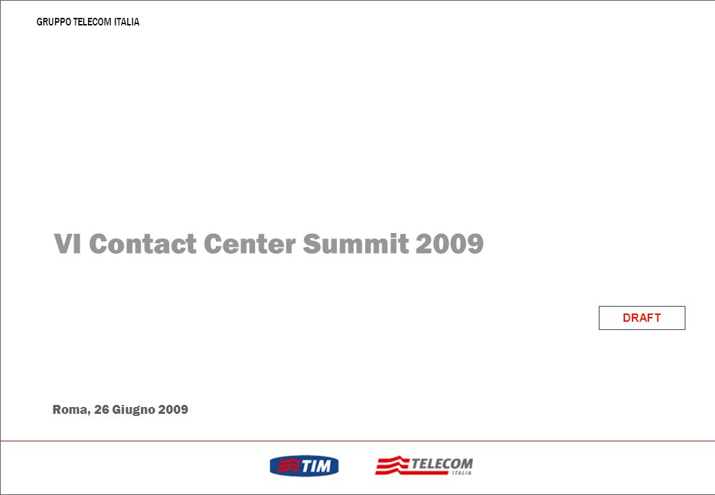 VI Contact Center Summit 2009