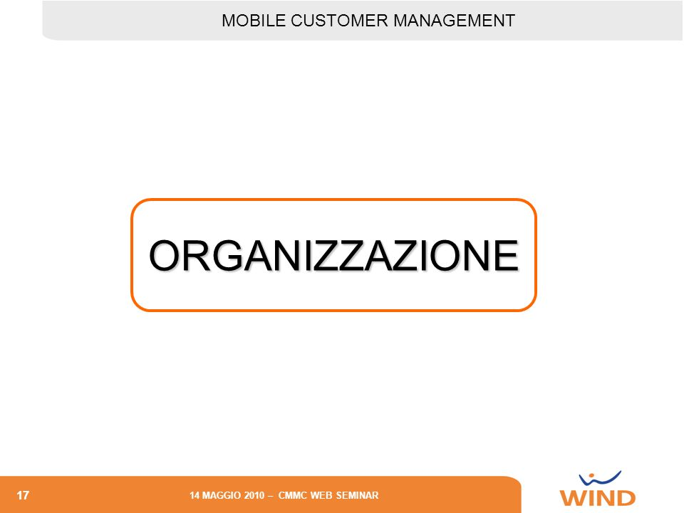 MOBILE CUSTOMER MANAGEMENT