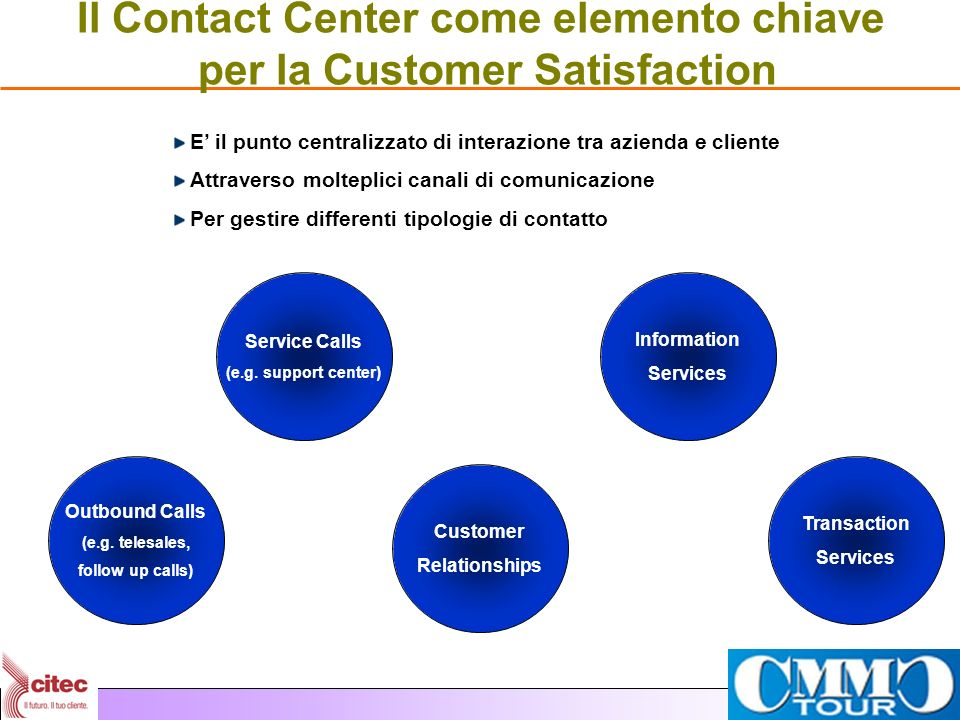 Il Contact Center come elemento chiave per la Customer Satisfaction