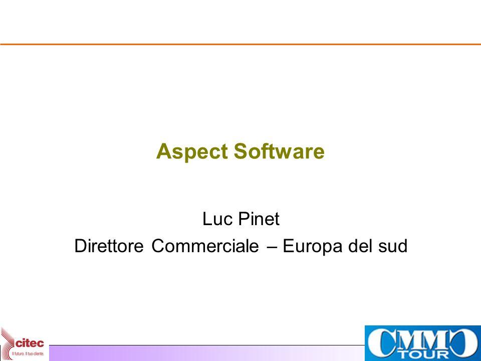Luc Pinet Direttore Commerciale – Europa del sud