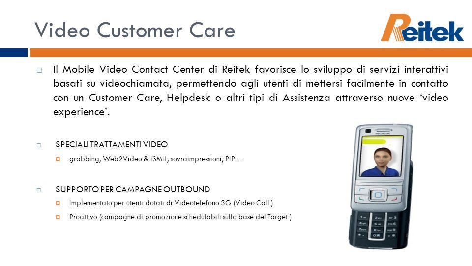 Video Customer Care