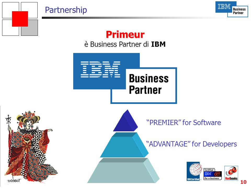è Business Partner di IBM