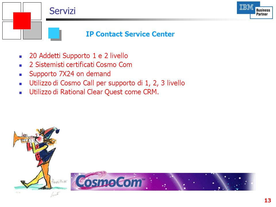 IP Contact Service Center
