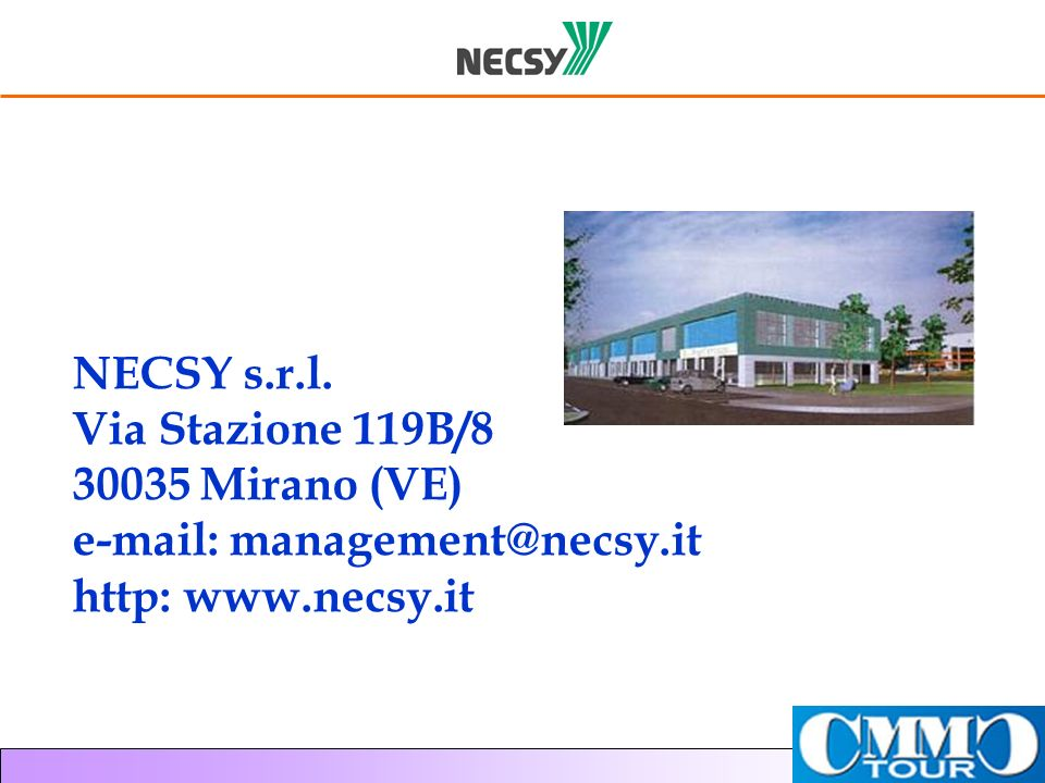 e-mail: management@necsy.it http: www.necsy.it