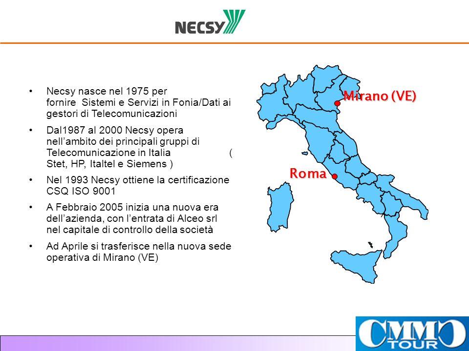 Necsy nasce nel 1975 per fornire Sistemi e Servizi in Fonia/Dati ai gestori di Telecomunicazioni