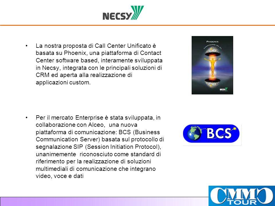 La nostra proposta di Call Center Unificato è basata su Phoenix, una piattaforma di Contact Center software based, interamente sviluppata in Necsy, integrata con le principali soluzioni di CRM ed aperta alla realizzazione di applicazioni custom.