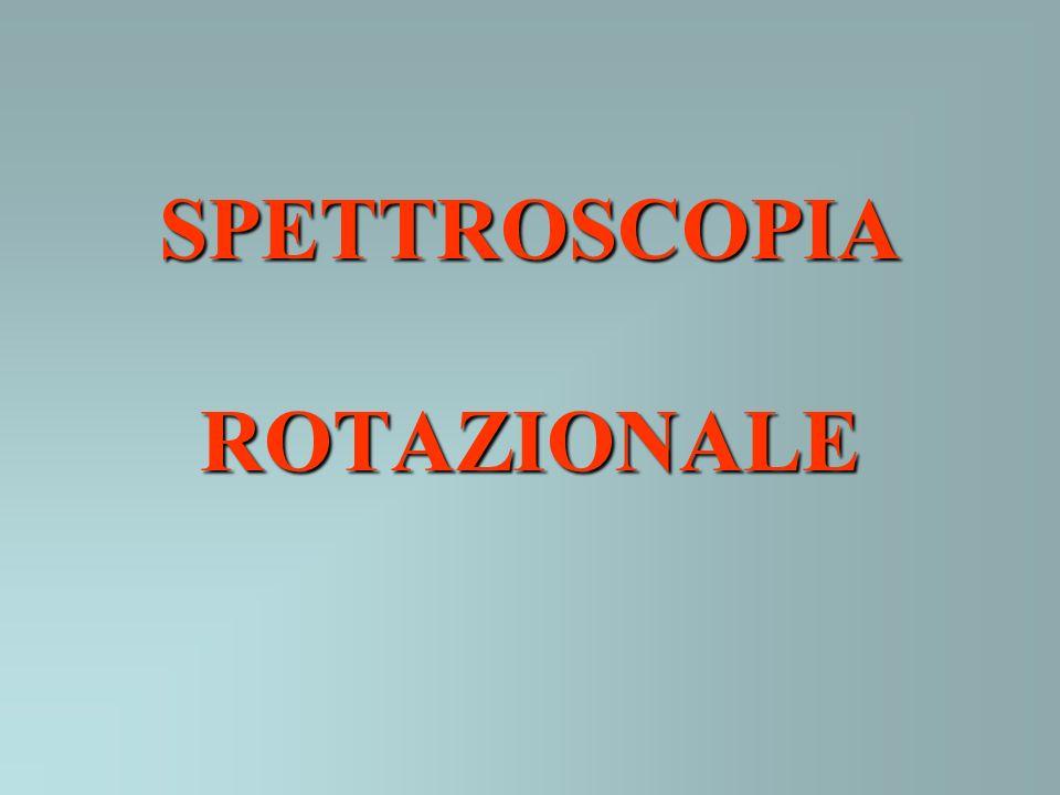 SPETTROSCOPIA ROTAZIONALE