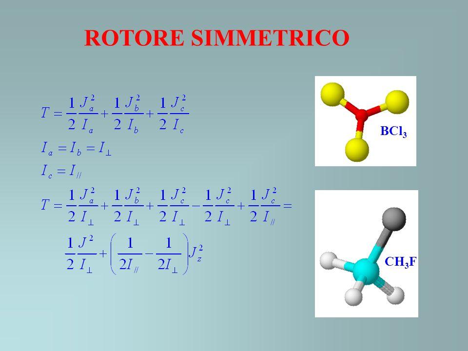ROTORE SIMMETRICO BCl3 CH3F