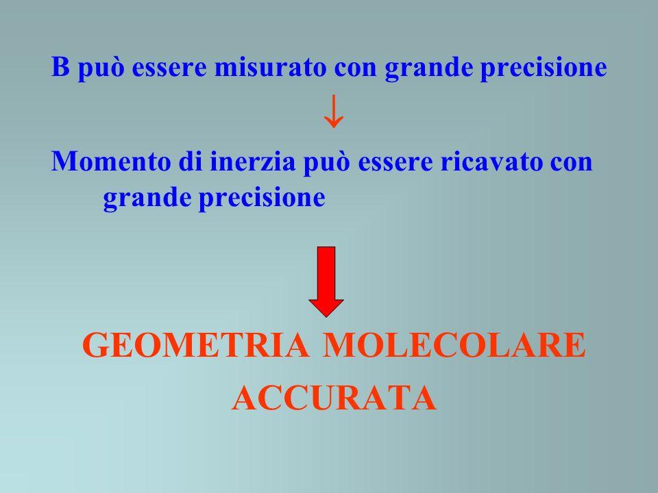  GEOMETRIA MOLECOLARE ACCURATA