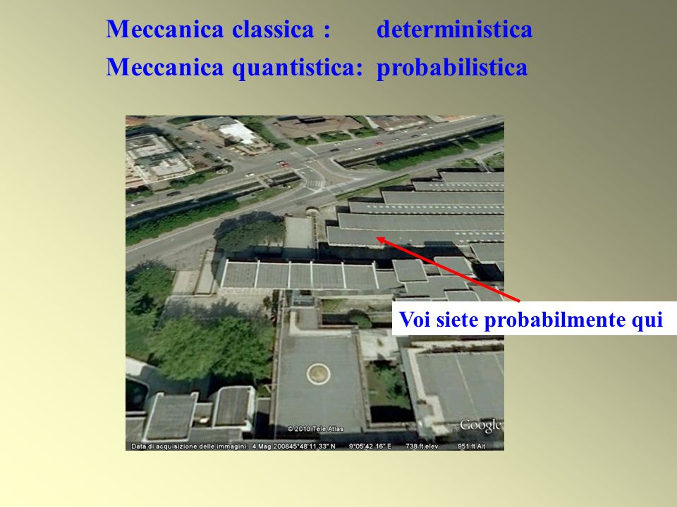 Meccanica classica : deterministica