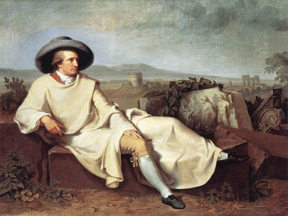 il poeta Goethe © Dario Bressanini