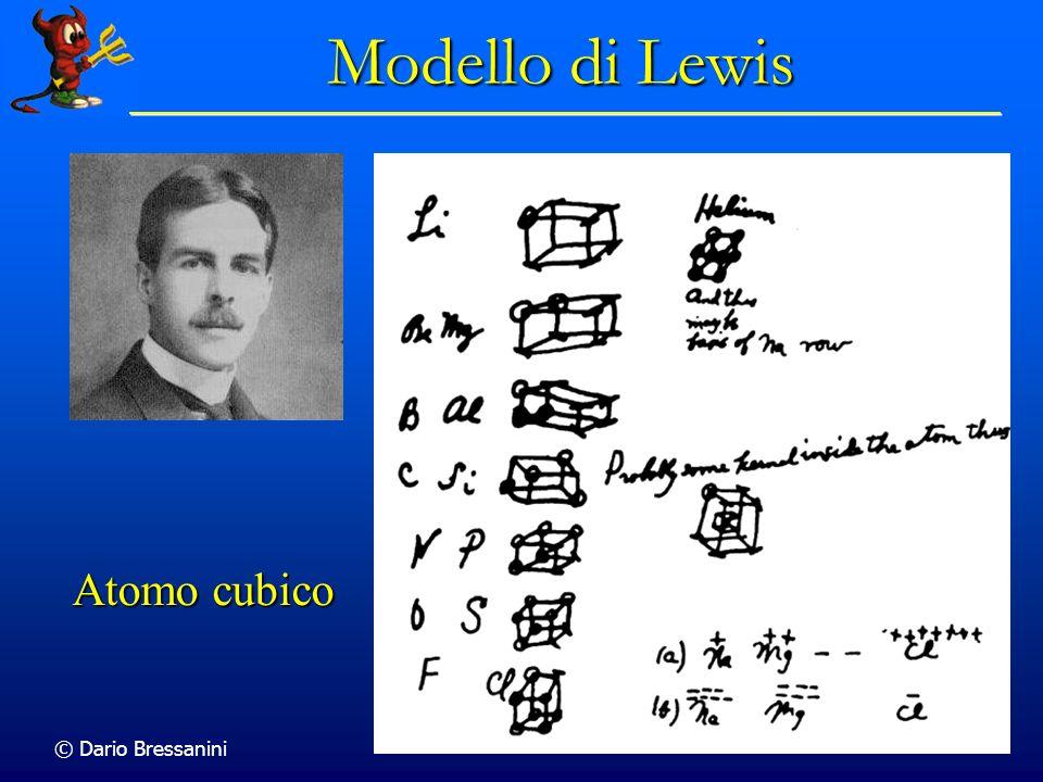 Modello di Lewis Atomo cubico © Dario Bressanini