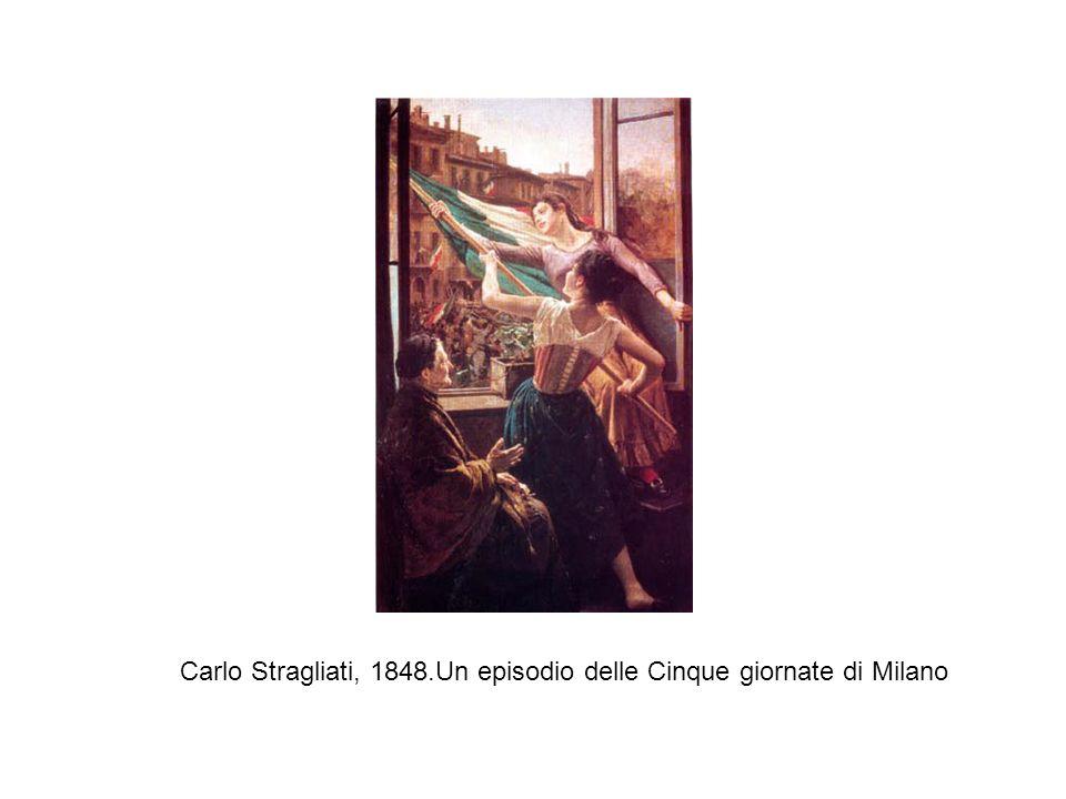 Carlo Stragliati, 1848.Un episodio delle Cinque giornate di Milano