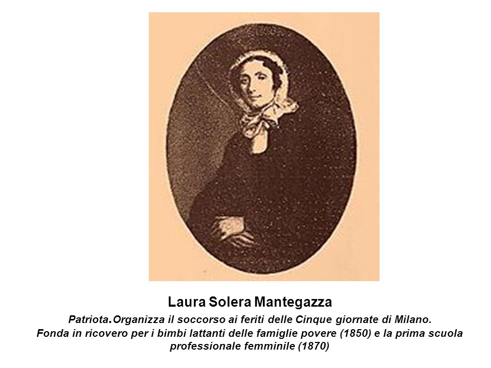 Laura Solera Mantegazza Patriota
