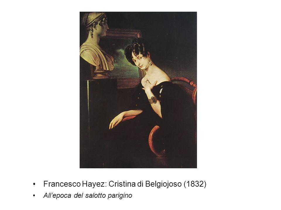 Francesco Hayez: Cristina di Belgiojoso (1832)