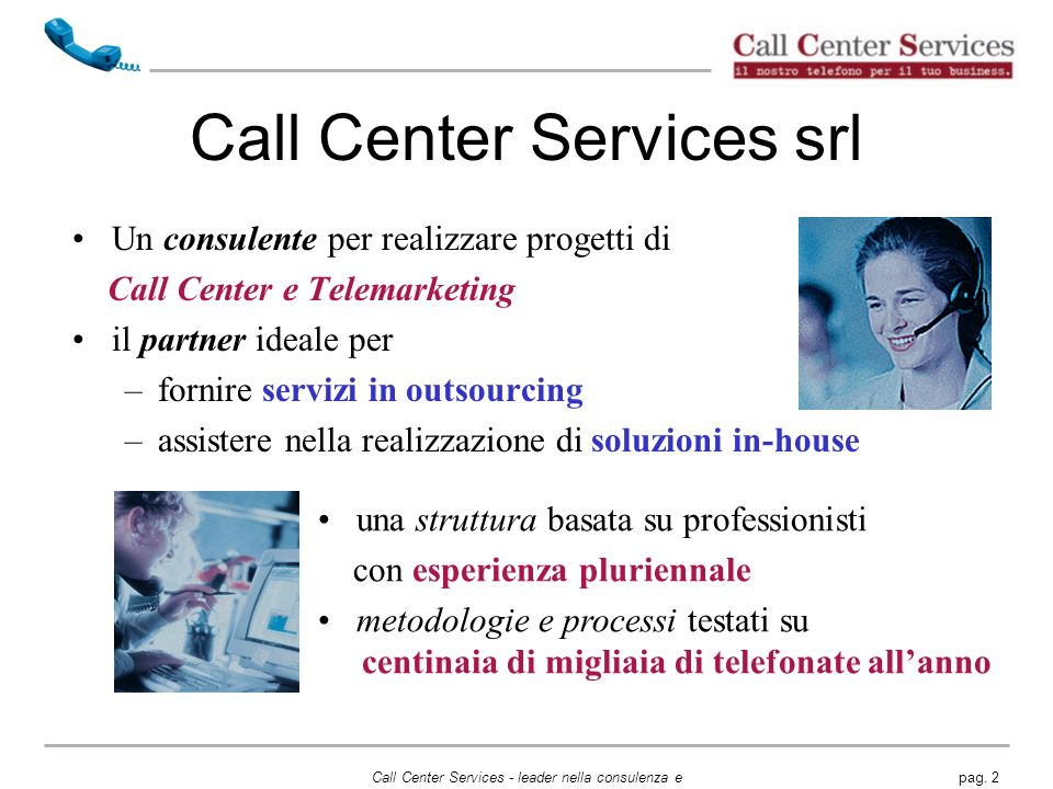 Call Center Services srl