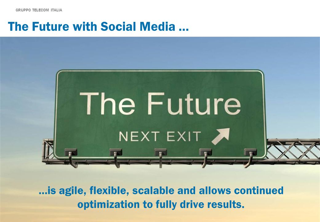 The Future with Social Media …