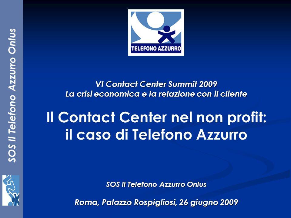 Il Contact Center nel non profit: il caso di Telefono Azzurro