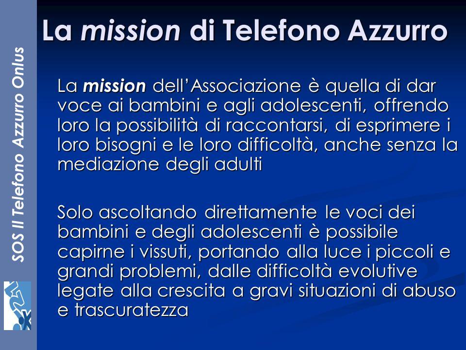 La mission di Telefono Azzurro
