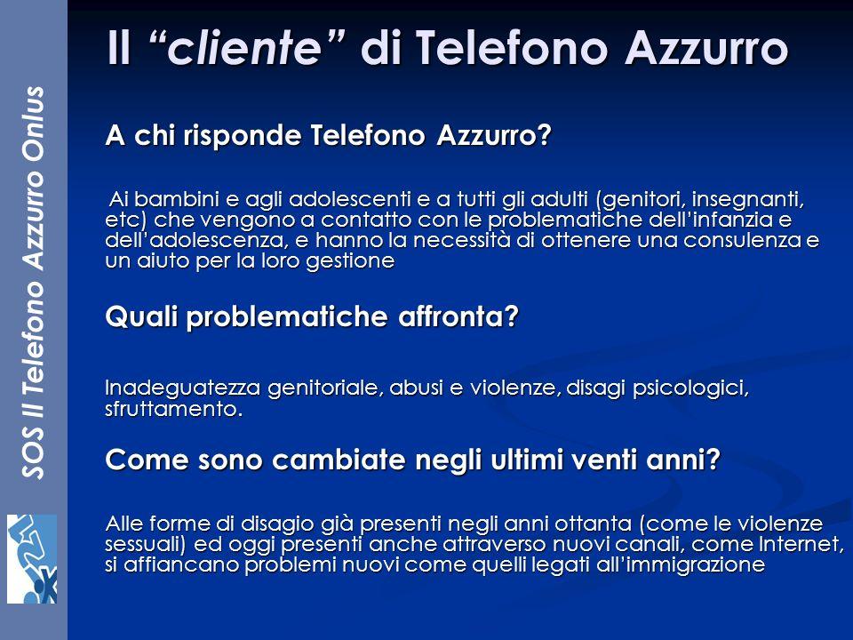 Il cliente di Telefono Azzurro