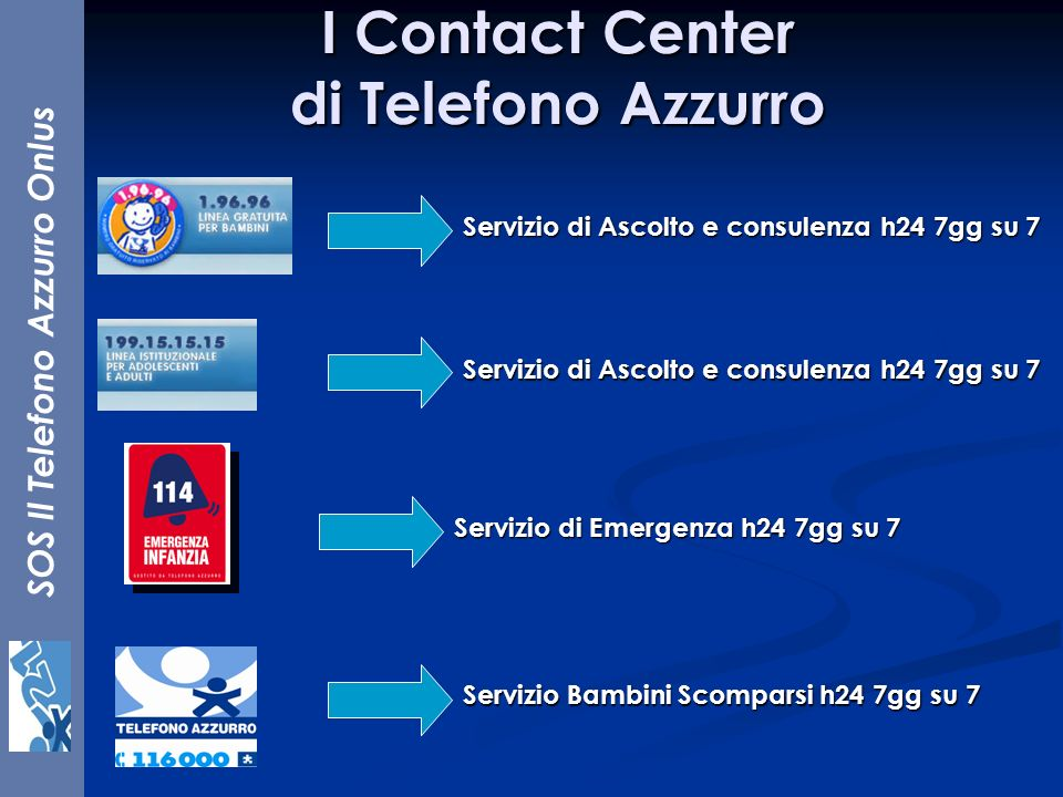 I Contact Center di Telefono Azzurro