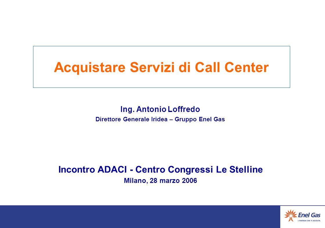 Acquistare Servizi di Call Center