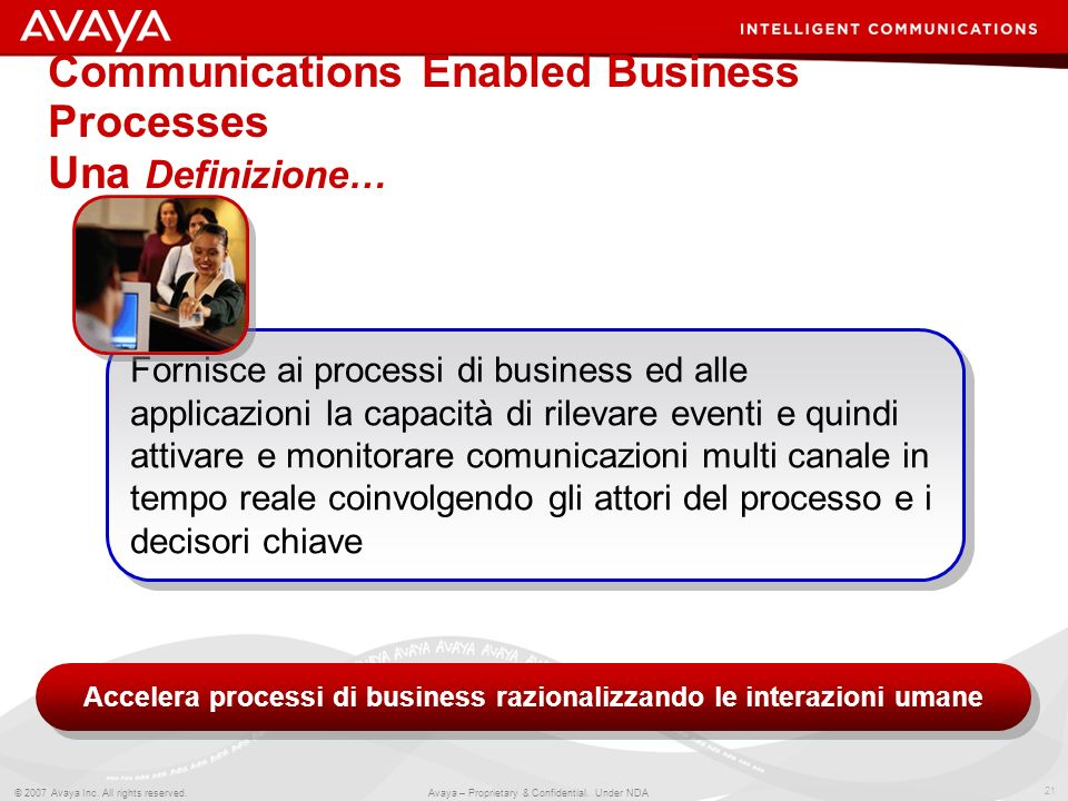 Communications Enabled Business Processes Una Definizione…