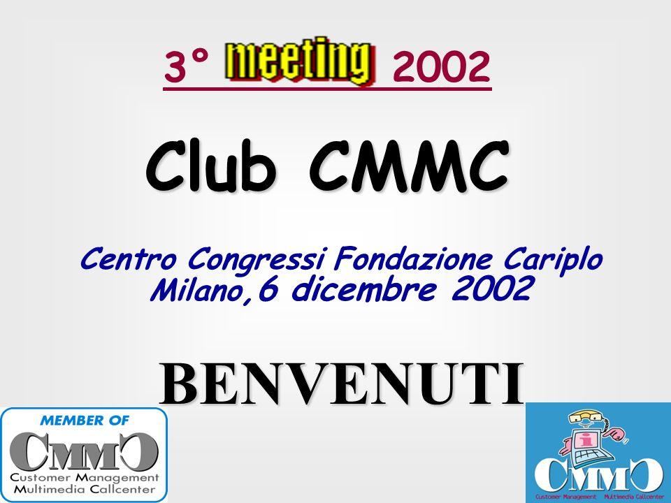 Centro Congressi Fondazione Cariplo Milano,6 dicembre 2002
